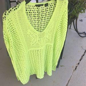 Jeanne Pierre swimsuit coverup size medium green